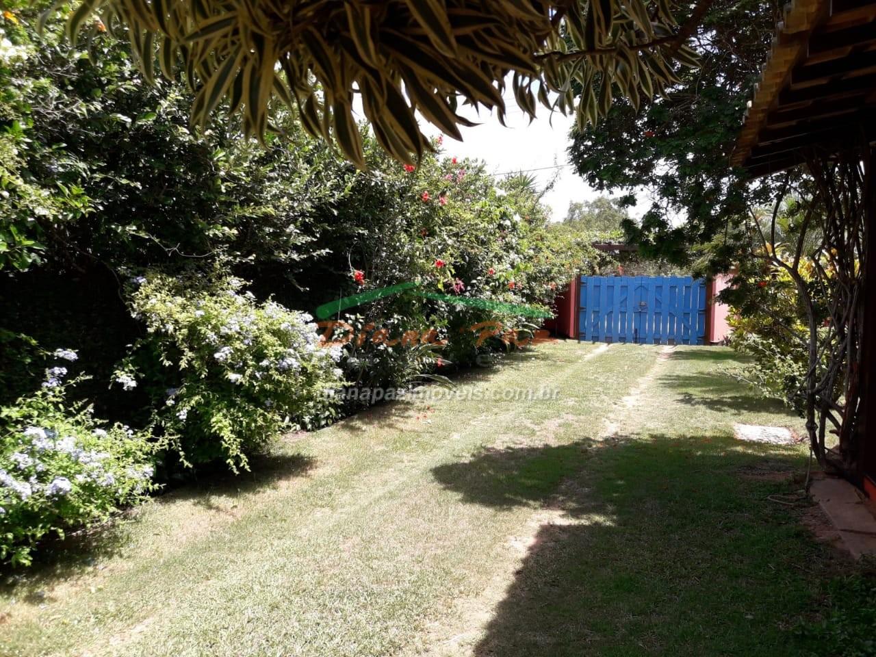 Portão jardim de entrada